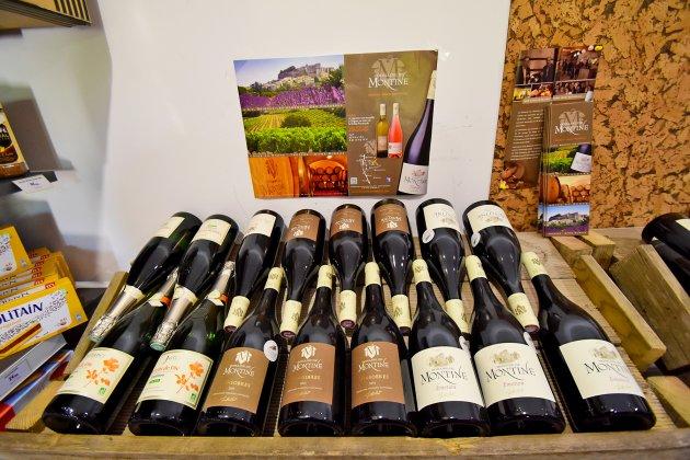 Vins Grignan La Roche Saint Secret au camping la  Source du  Jabron en Drôme Provençale