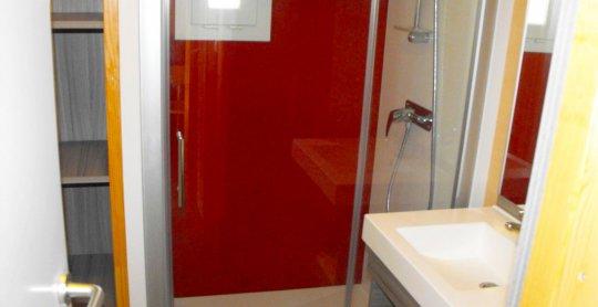 chalet confort 6 personnes salle de bain