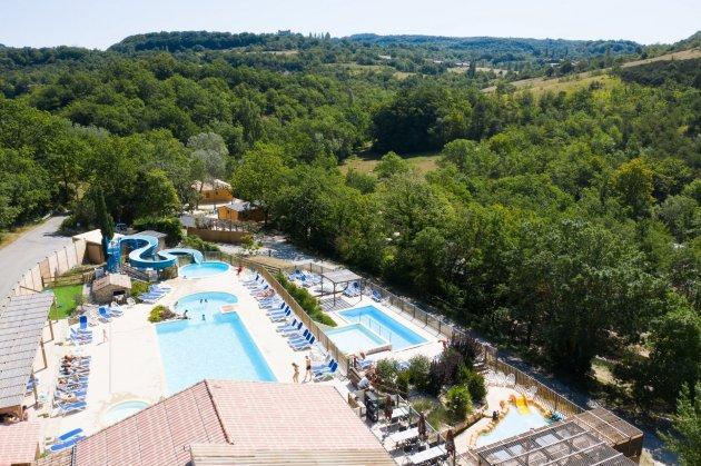 Espace aquatique du Camping la source du Jabron  en Drôme Provençale