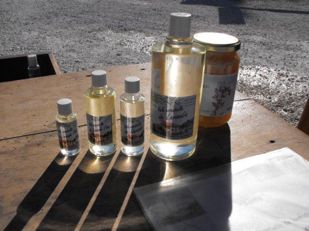 Lavande Lavandin et miel de lavande au Camping la Source du Jabron en Drôme Provençale
