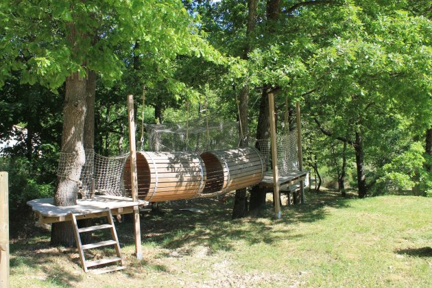 La source du Jabron acro bambino jeux en bois Drôme Provençale